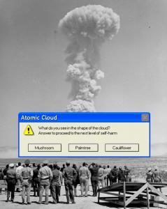 'Atomic Cloud: playing since 1945' (2018)